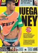 Portada Mundo Deportivo del 26 de Junio de 2013