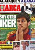 Portada diario Marca del 27 de Junio de 2013