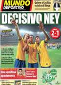 Portada Mundo Deportivo del 27 de Junio de 2013