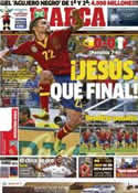 Portada diario Marca del 28 de Junio de 2013