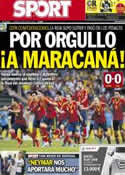 Portada diario Sport del 28 de Junio de 2013