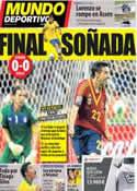 Portada Mundo Deportivo del 28 de Junio de 2013