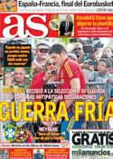 Portada diario AS del 29 de Junio de 2013