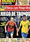 Portada Mundo Deportivo del 29 de Junio de 2013