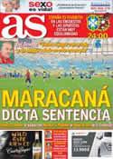 Portada diario AS del 30 de Junio de 2013