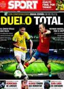 Portada diario Sport del 30 de Junio de 2013