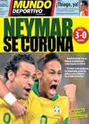 Portada Mundo Deportivo del 1 de Julio de 2013