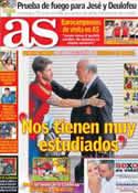 Portada diario AS del 2 de Julio de 2013