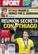 Portada diario Sport del 2 de Julio de 2013