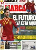 Portada diario Marca del 3 de Julio de 2013
