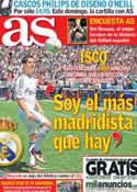 Portada diario AS del 4 de Julio de 2013