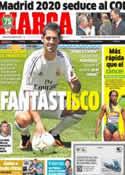 Portada diario Marca del 4 de Julio de 2013