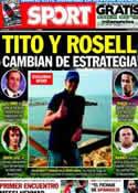 Portada diario Sport del 4 de Julio de 2013