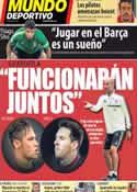 Portada Mundo Deportivo del 5 de Julio de 2013