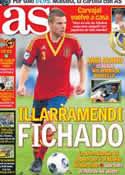 Portada diario AS del 6 de Julio de 2013