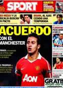 Portada diario Sport del 6 de Julio de 2013
