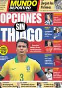 Portada Mundo Deportivo del 6 de Julio de 2013