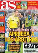 Portada diario AS del 7 de Julio de 2013