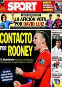 Portada diario Sport del 7 de Julio de 2013