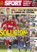 Portada diario Sport del 8 de Julio de 2013
