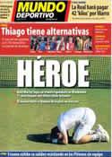 Portada Mundo Deportivo del 8 de Julio de 2013