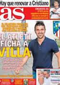 Portada diario AS del 9 de Julio de 2013