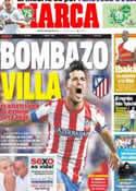 Portada diario Marca del 9 de Julio de 2013