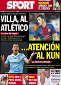 Portada diario Sport del 9 de Julio de 2013