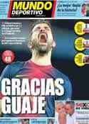 Portada Mundo Deportivo del 9 de Julio de 2013