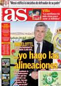 Portada diario AS del 10 de Julio de 2013
