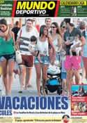 Portada Mundo Deportivo del 10 de Julio de 2013