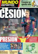 Portada Mundo Deportivo del 11 de Julio de 2013