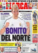 Portada diario Marca del 13 de Julio de 2013