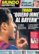 Portada Mundo Deportivo del 13 de Julio de 2013