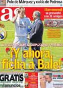 Portada diario AS del 14 de Julio de 2013