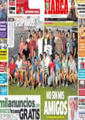 Portada diario Marca del 14 de Julio de 2013