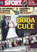 Portada diario Sport del 14 de Julio de 2013