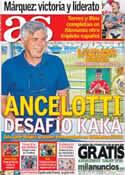 Portada diario AS del 15 de Julio de 2013