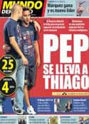 Portada Mundo Deportivo del 15 de Julio de 2013