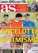 Portada diario AS del 16 de Julio de 2013