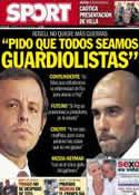 Portada diario Sport del 16 de Julio de 2013