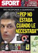 Portada diario Sport del 17 de Julio de 2013