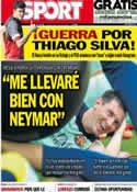 Portada diario Sport del 18 de Julio de 2013