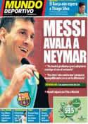 Portada Mundo Deportivo del 18 de Julio de 2013