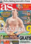 Portada diario AS del 19 de Julio de 2013