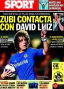 Portada diario Sport del 19 de Julio de 2013