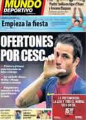 Portada Mundo Deportivo del 19 de Julio de 2013