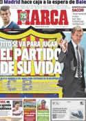 Portada diario Marca del 20 de Julio de 2013