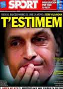 Portada diario Sport del 20 de Julio de 2013