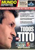 Portada Mundo Deportivo del 20 de Julio de 2013